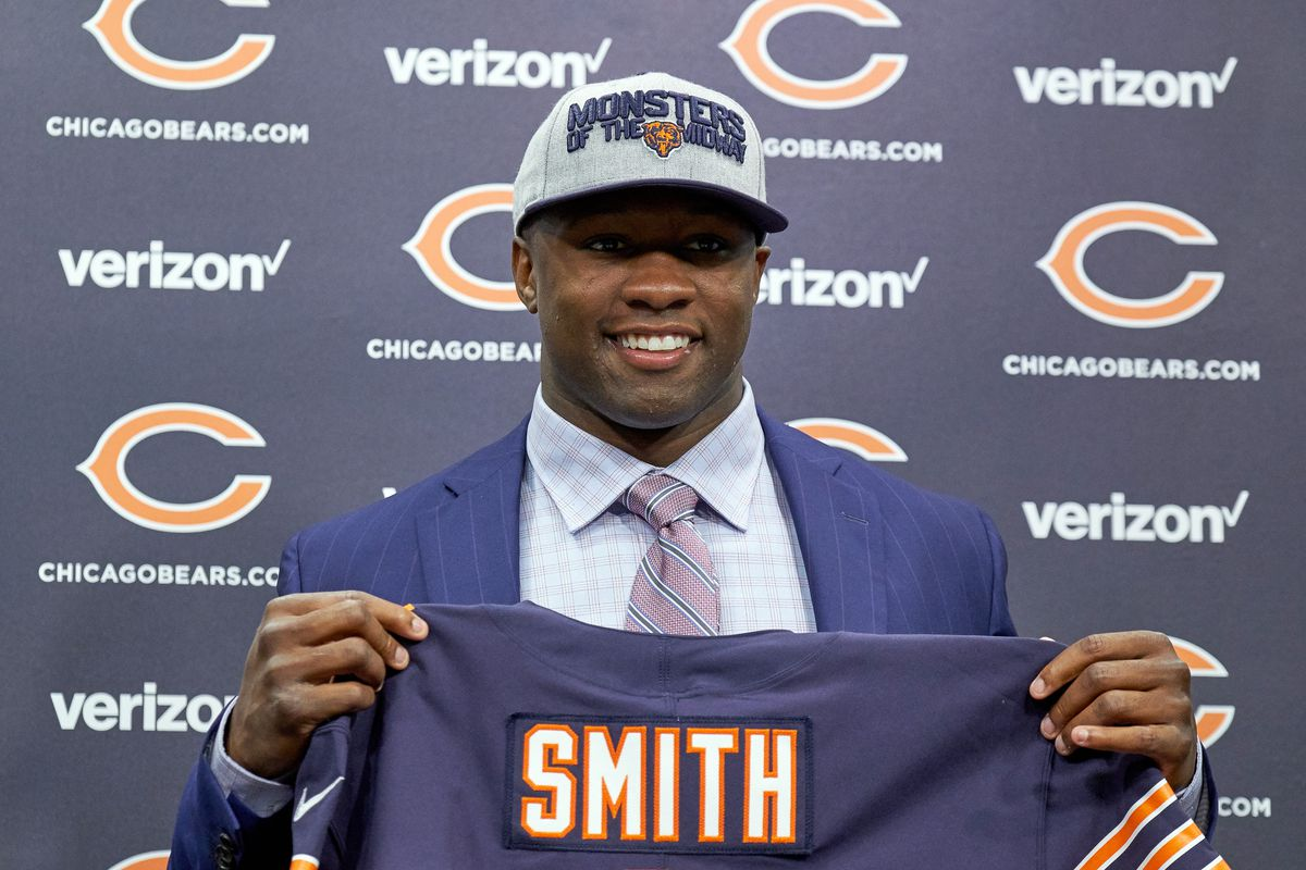 NFL: APR 27 Bears Roquan Smith Press Conference