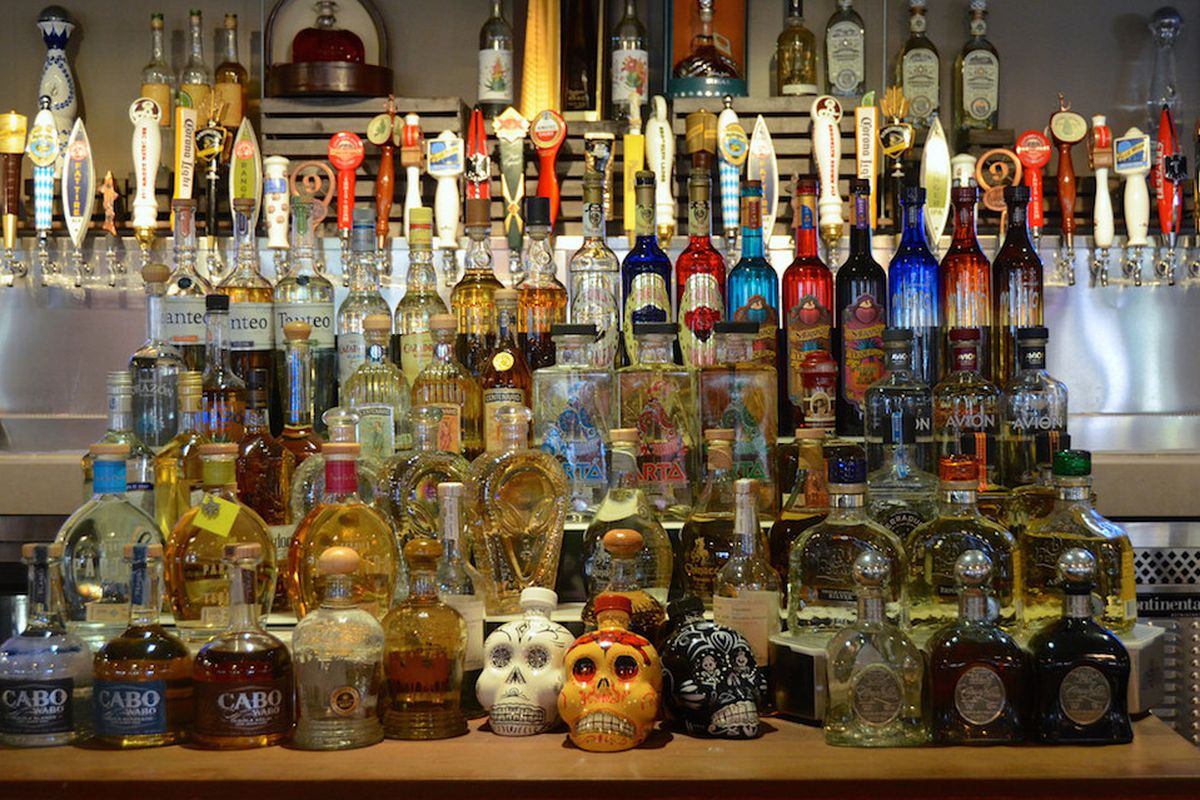 e8ed98edfd23aa DOWNTOWN GRAND — Now you have a new place to imbibe in a massive collection  of tequilas. Just in time for Cinco de Mayo