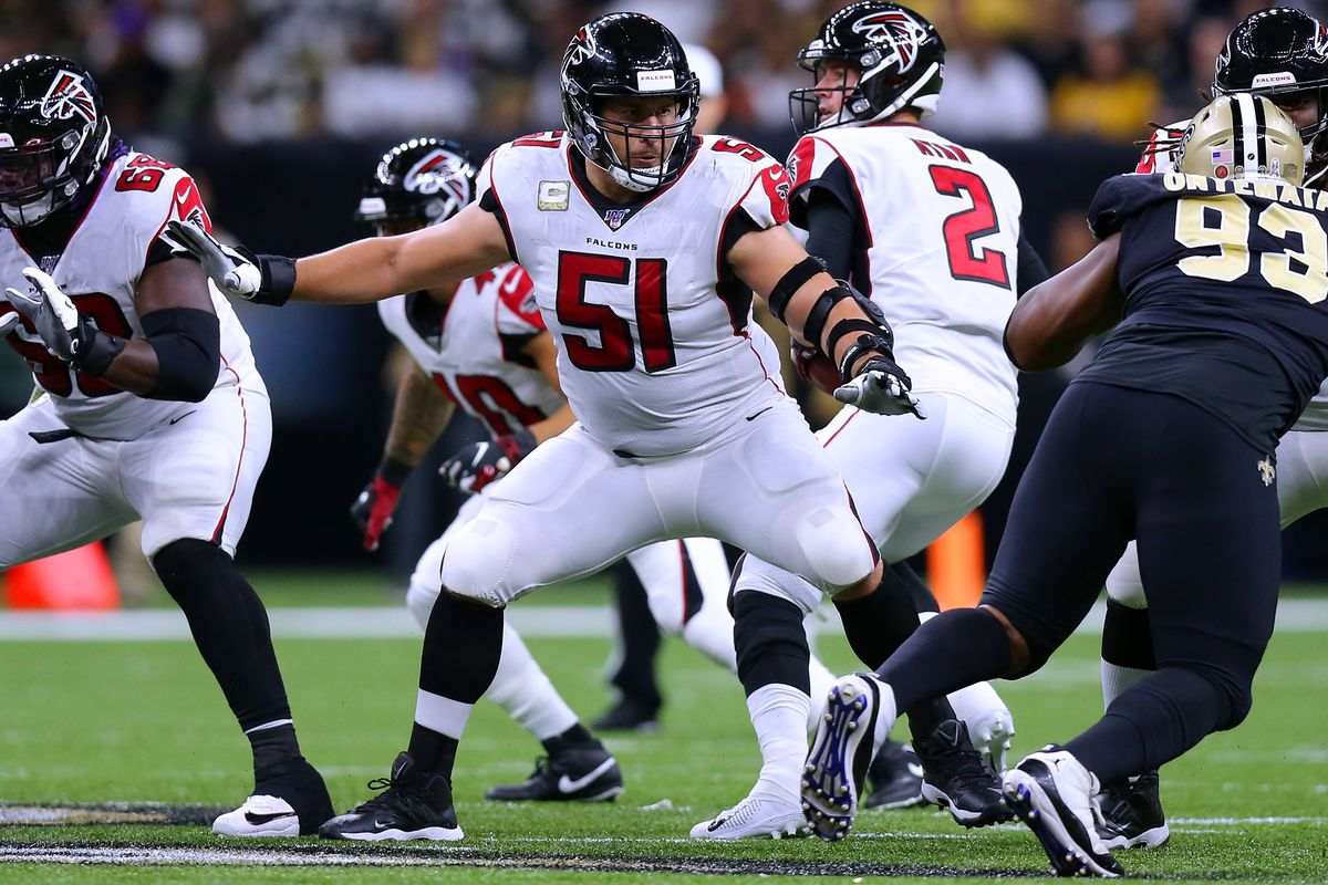 Atlanta Falcons 2020 Schedule.Falcons Nfl Draft 2020 Should The Falcons Draft Alex Mack S
