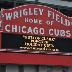 Holiday gift ad still being displayed on Tuesday