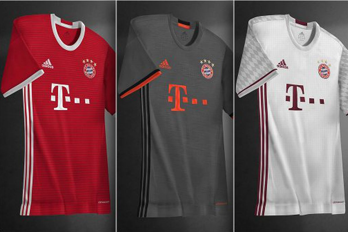 b87639347be KIT LEAK: Bayern Munich 2016-17 Adidas jerseys - Bavarian Football Works