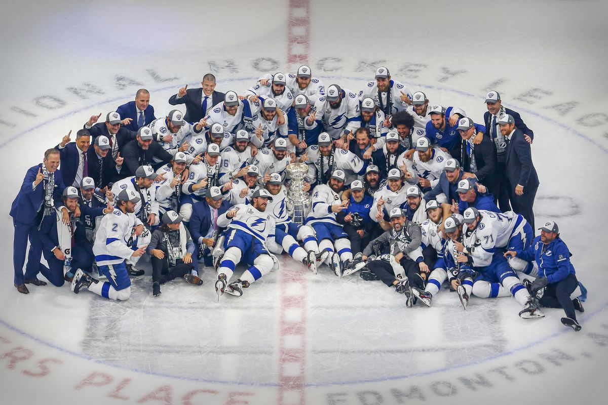 Lightning Round: Just woke up, and the Tampa Bay Lightning are still Stanley Cup Champions - Raw Charge
