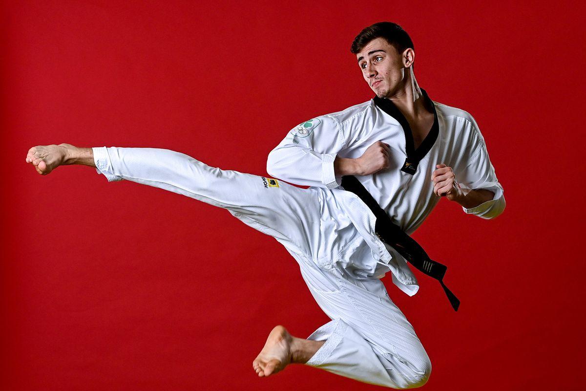 Jack Woolley is the first Irish taekwondo Olympian.