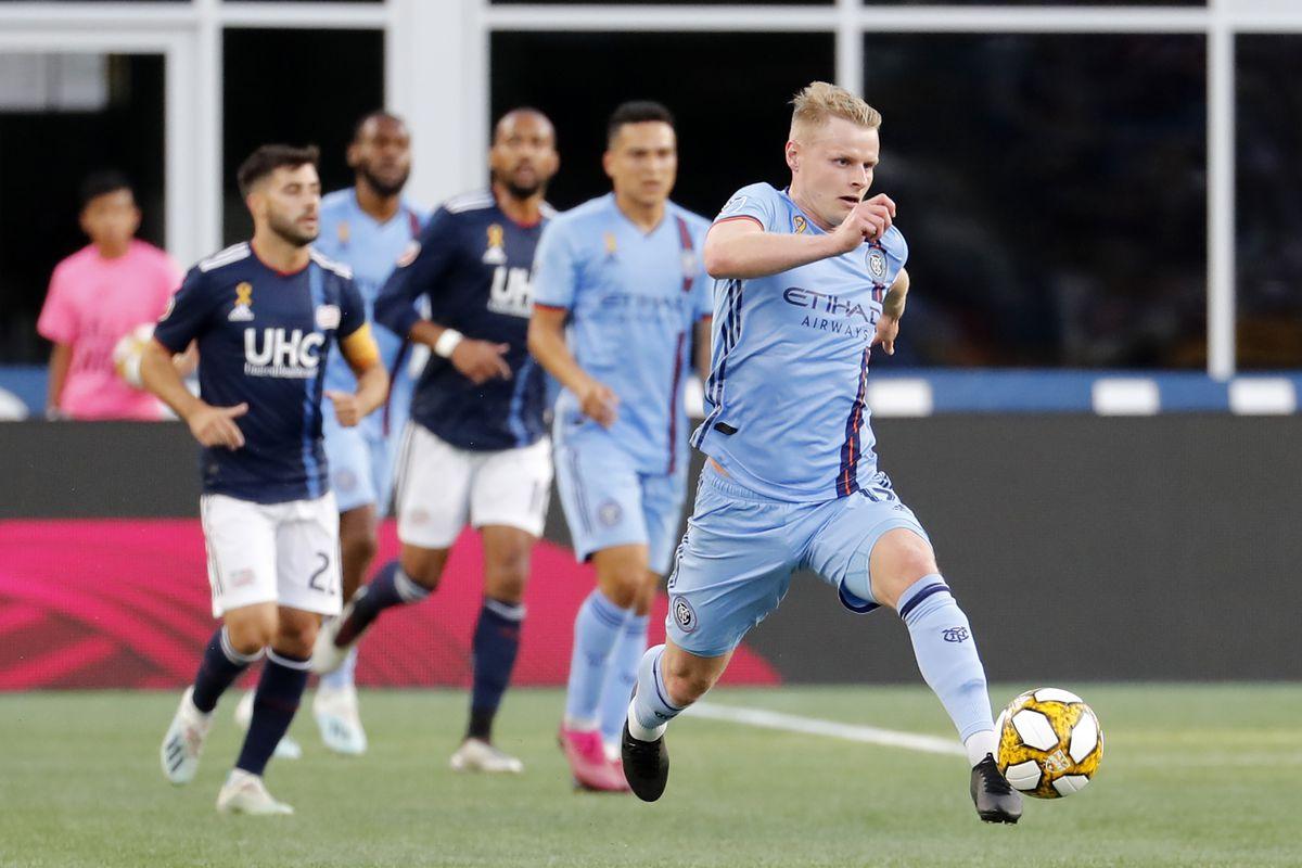 SOCCER: SEP 29 MLS - New York City FC at New England Revolution