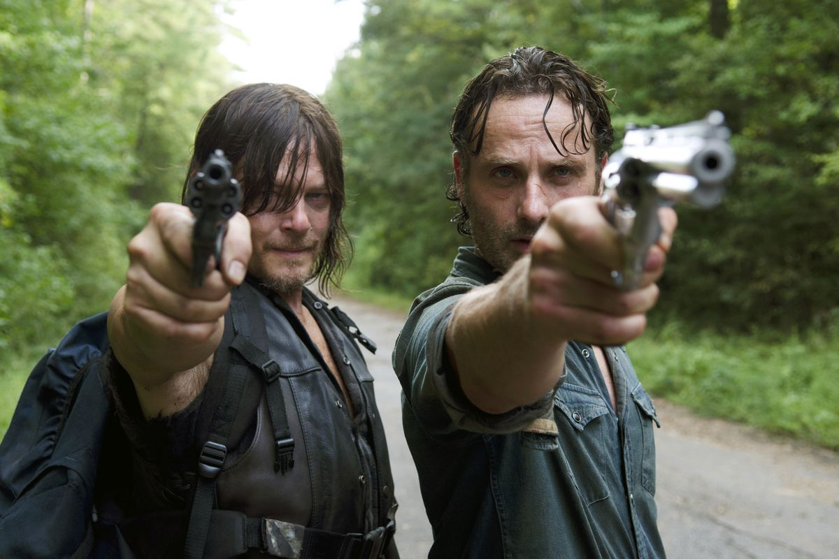 Daryl and Rick take aim at a drifter who may be more than he seems.