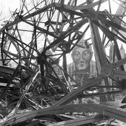 The wreckage of Riverview Park as it was being torn down in 1968.   Sun-Times Archives