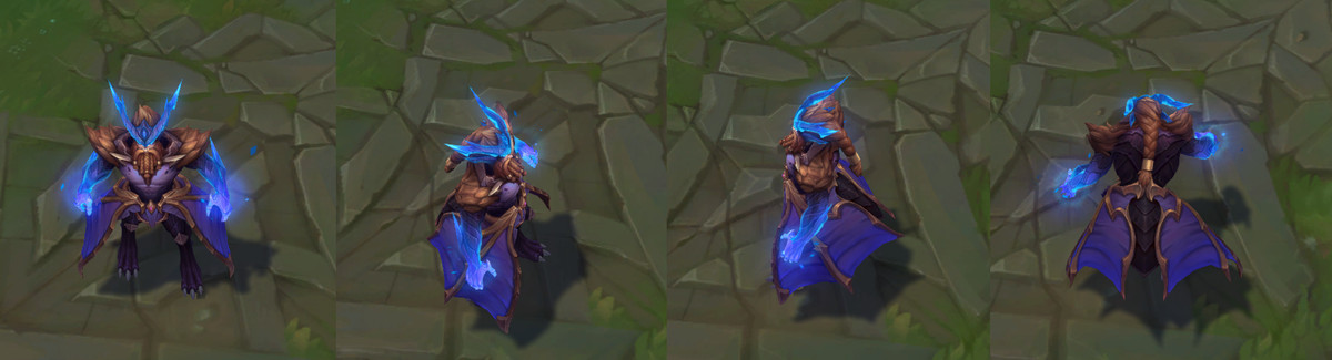 The turnaround images for Dragon Oracle Udyr's bear stance