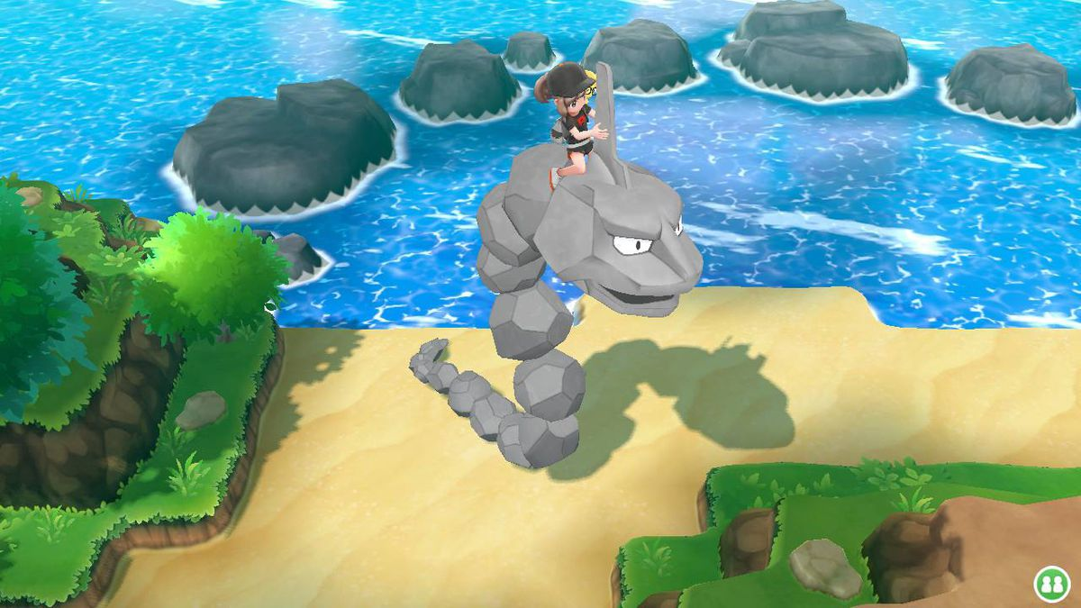 Pokémon Let's Go: Which Pokémon can I ride on? - Polygon
