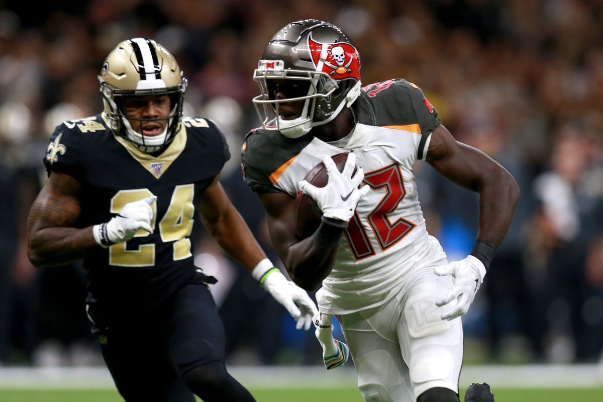 Chris Godwin Injury Buccaneers Wr Ruled Out For Week 2 Expected To Return In Week 3 Draftkings Nation