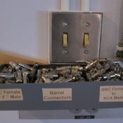 Connectors in the TV room