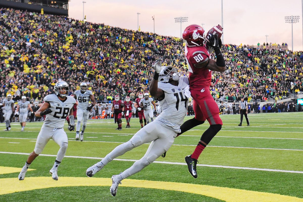 Dom Williams' game-tying catch with one second remaining.