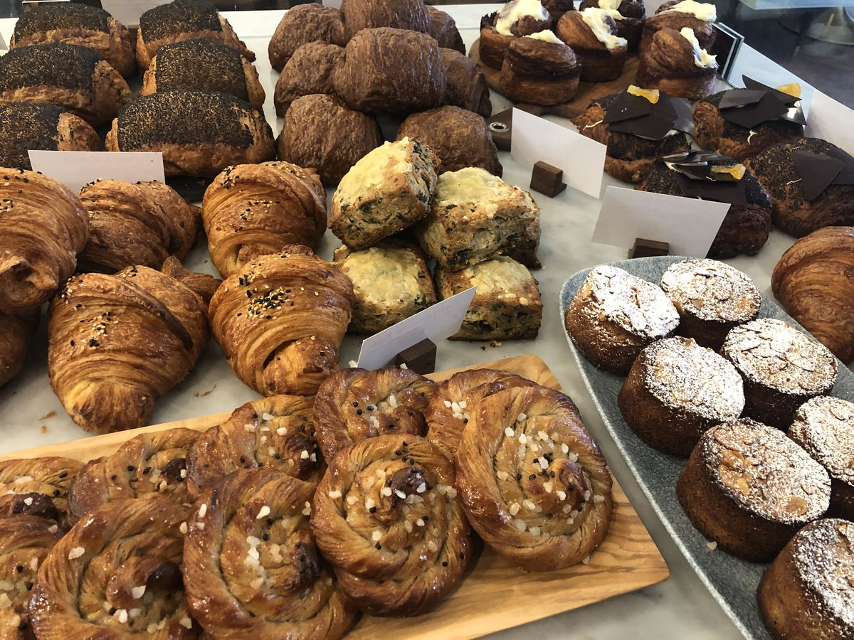 Fresh-baked pastries at Lost Larson Bakery.   Ji Suk Yi/Sun-Times