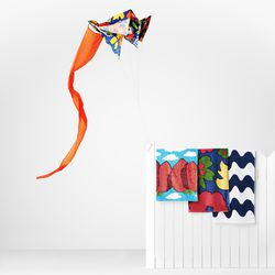 Frameless Kite, $34.99; Beach Towel, $24.99