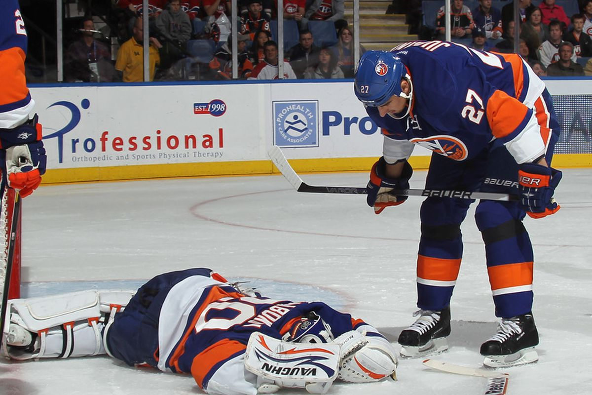 """""""Hey Evgeni, you wanted to be on a team contending for something?  Well wake up, here's our chance."""""""