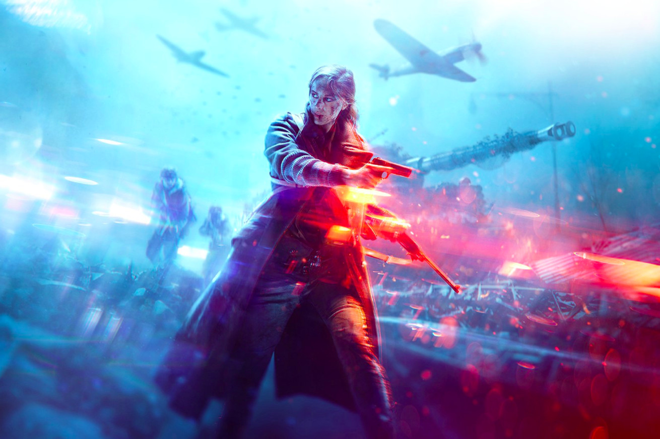 battlefield v fans who failed history are mad the game has women in it