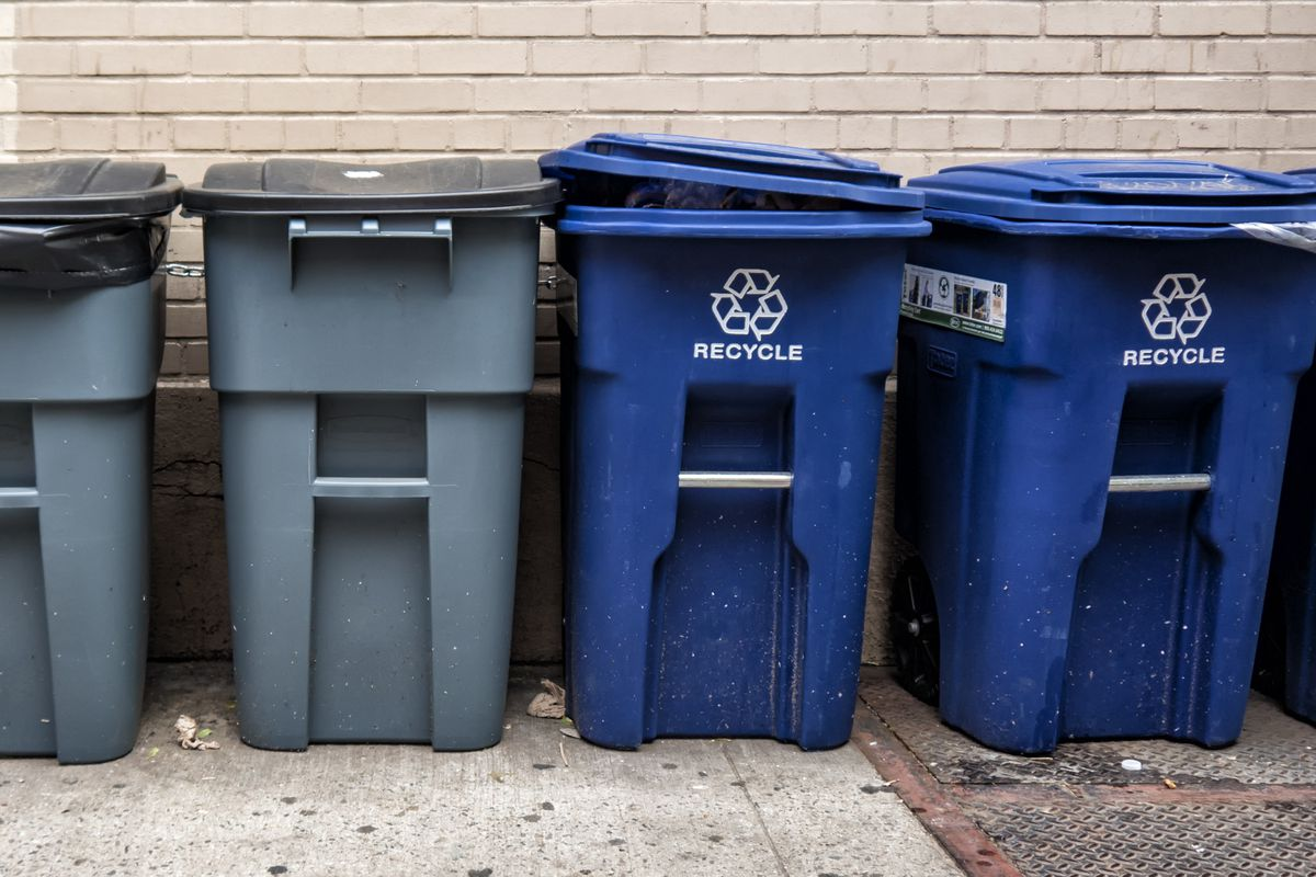 Waste Management, the company the city contracts with for trash and recycling pickup, will change out all trash cans during the weeks of Oct. 22 and Oct. 29.