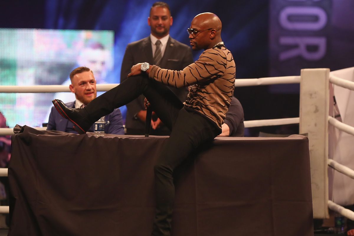 Image result for conor vs floyd London Press