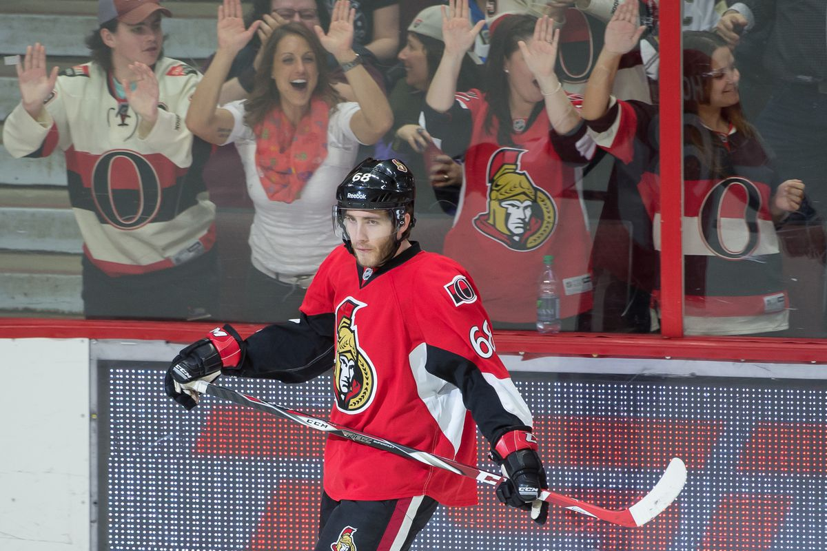 Mike Hoffman is unfazed by your applause