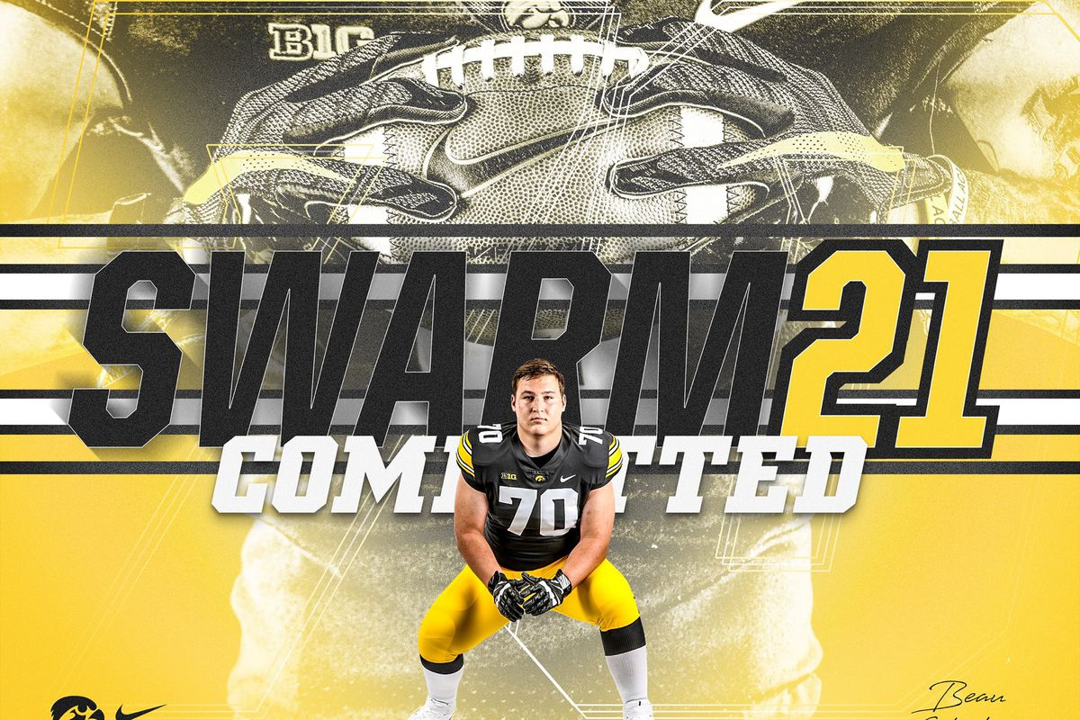 Iowa Football Recruiting Hawkeyes Land Commitment From 3 Star Ol