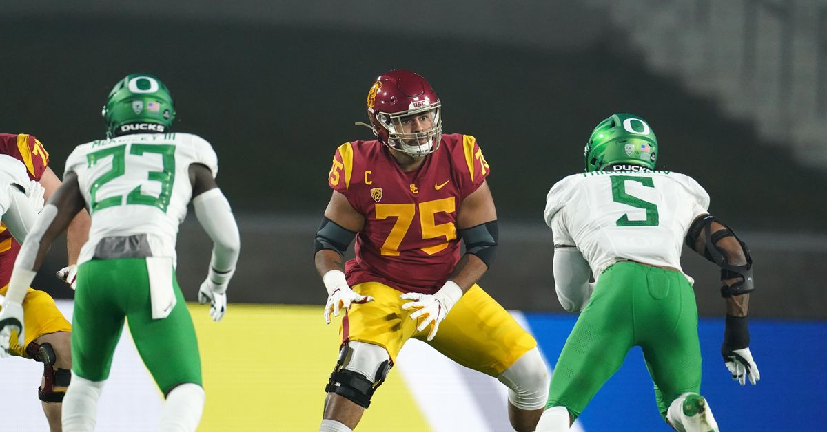 2021 NFL Draft: Arizona Cardinals look to beef up the offensive line in Charles Davis' first mock draft