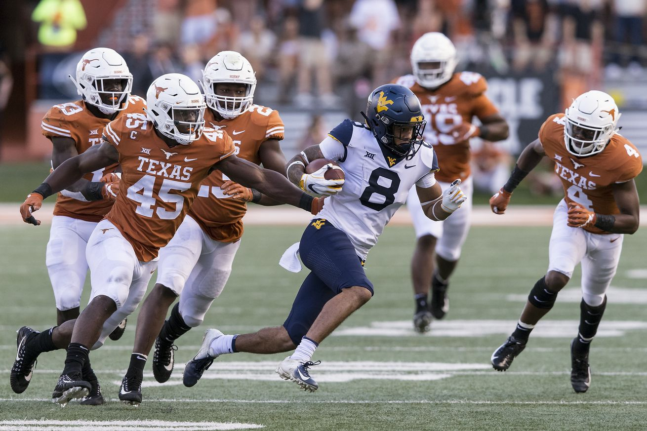Big 12 Triggers Six-Day Window for West Virginia v. Texas on Nov. 7