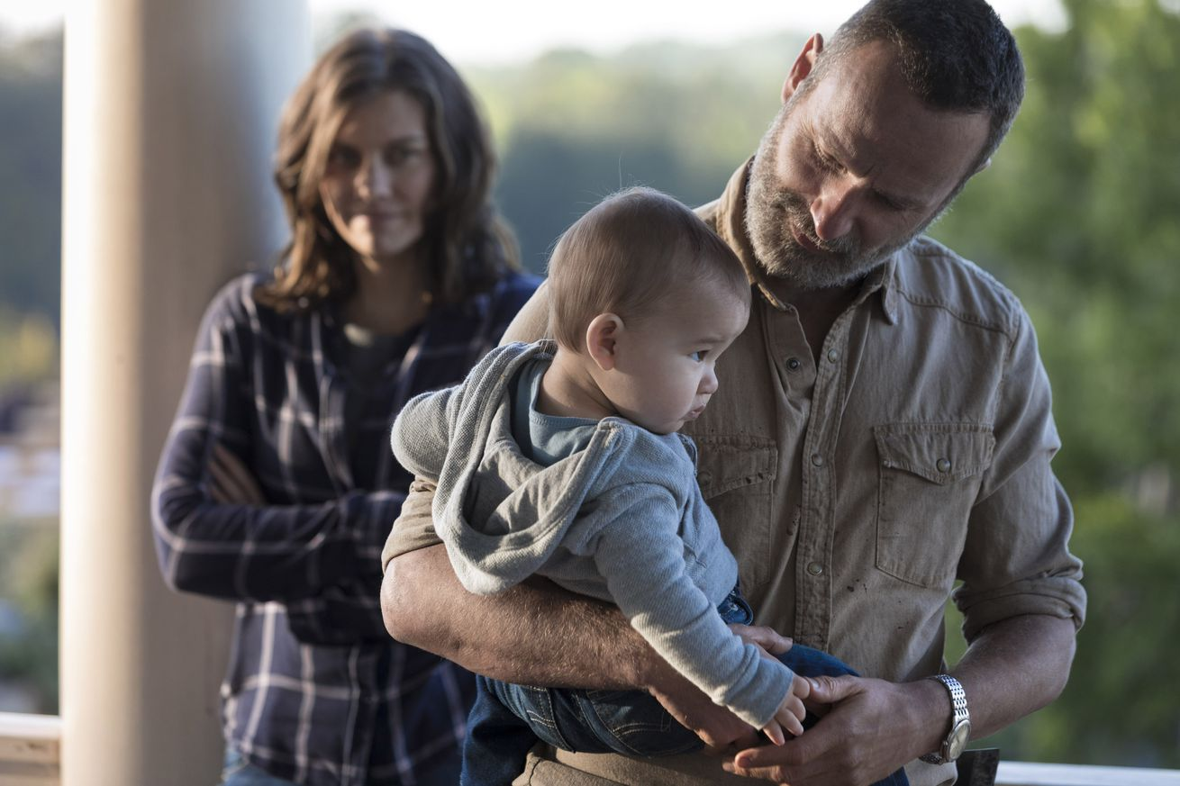 the walking dead s season premiere offered a long awaited glimmer of hope