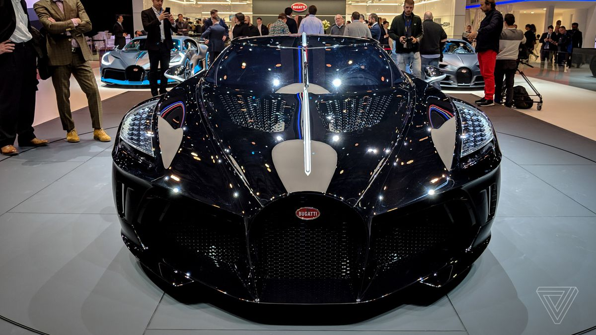 Bugatti S La Voiture Noire Is A 19 Million Ode To The Grotesquely