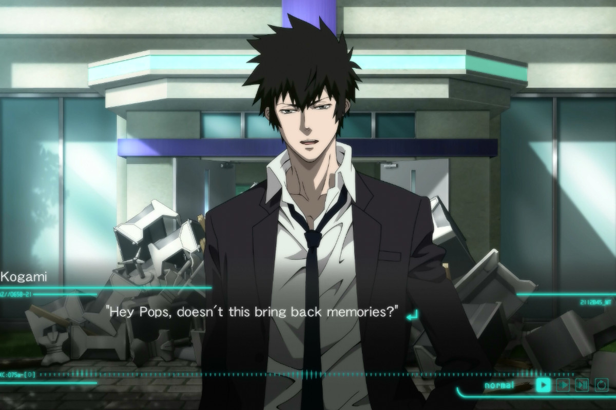 Before You Decide To Play Psycho Pass Mandatory Happiness Have Ask Yourself An Important Question How Much Do Love The Cyberpunk Anime Series