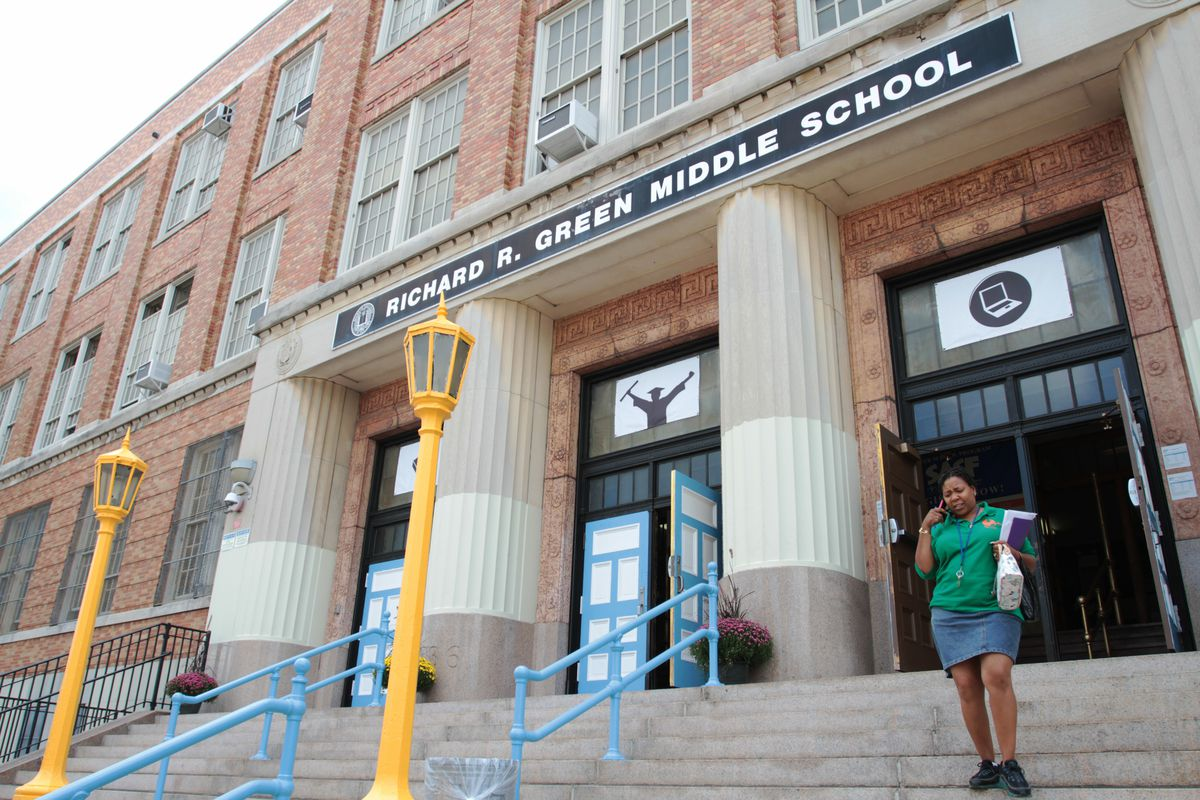 The Richard R. Green campus in the Bronx underwent several renovations over the summer.