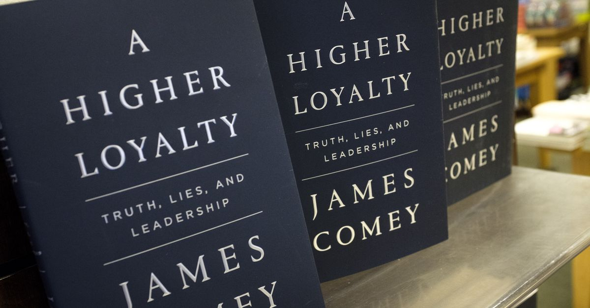 photo image Amazon won't let users review James Comey's new book if they didn't purchase it through the site