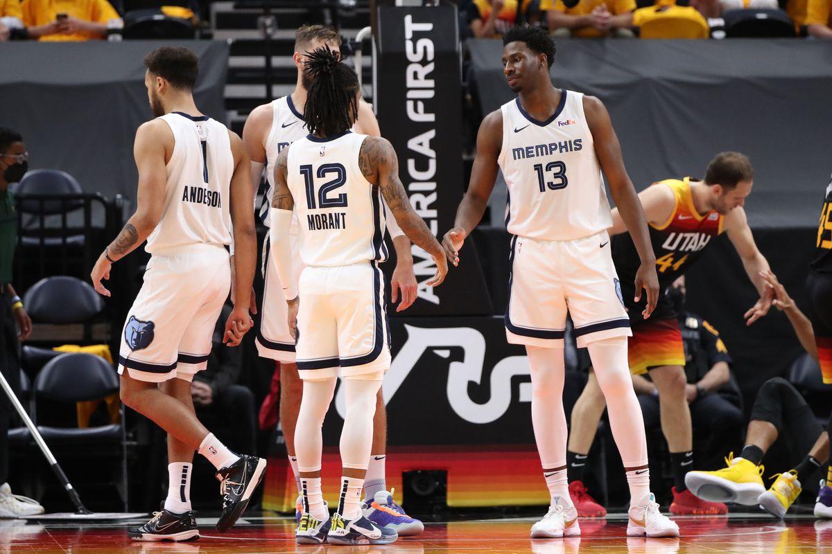 2021 NBA Playoffs - Memphis Grizzlies v Utah Jazz