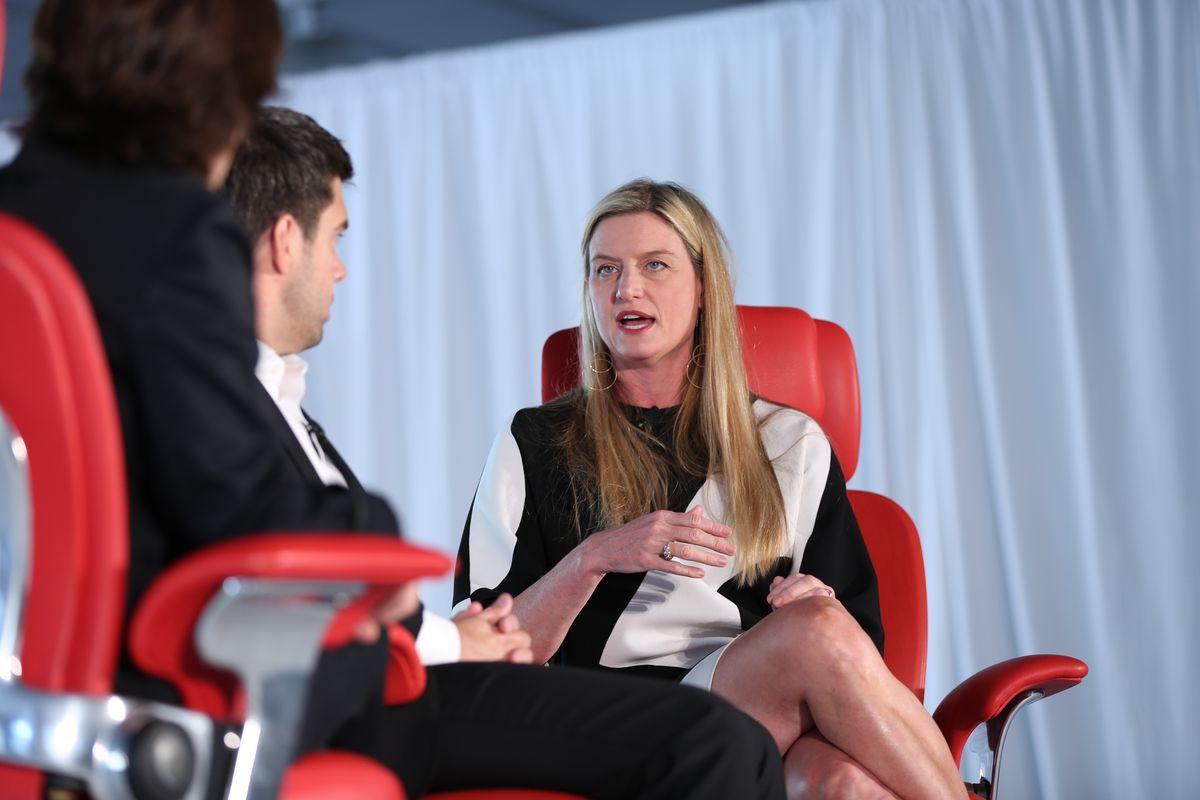 Williams-Sonoma CEO Laura Alber at Code Commerce