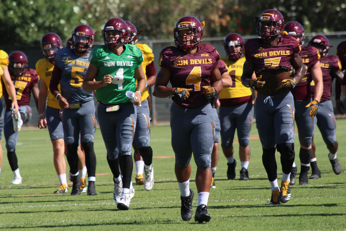 Asu Football Projecting The Initial Depth Chart