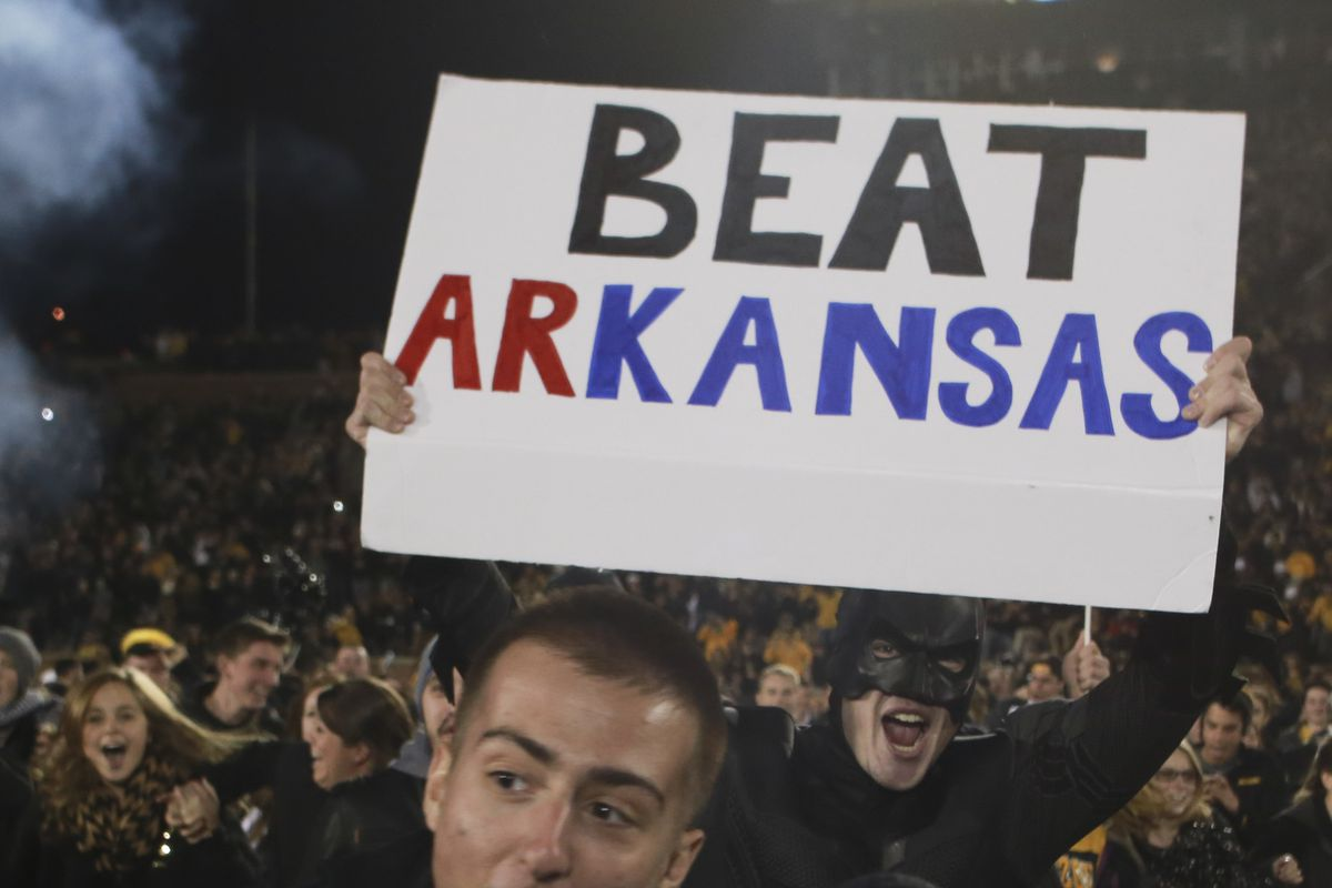 NCAA FOOTBALL: NOV 28 Arkansas at Missouri