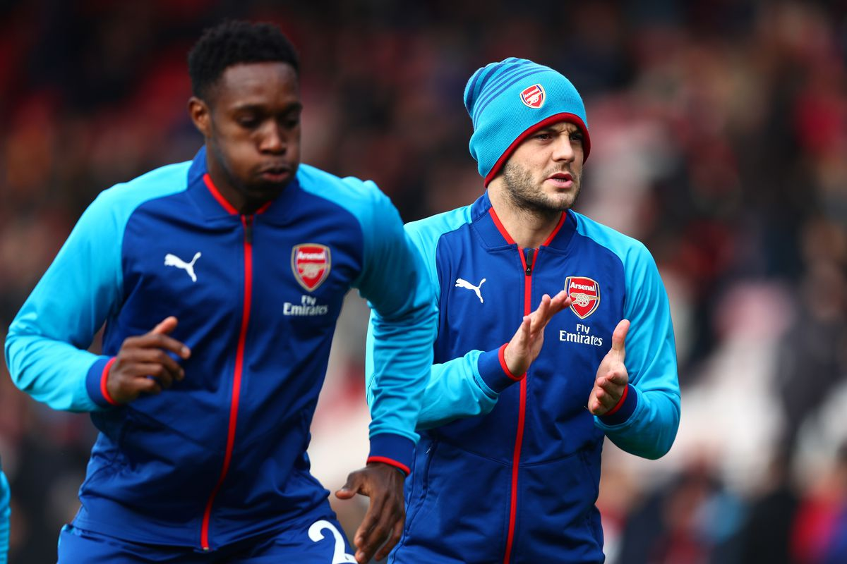 With Alexis Sanchez not travel Danny Welbeck gets the start for Arsenal