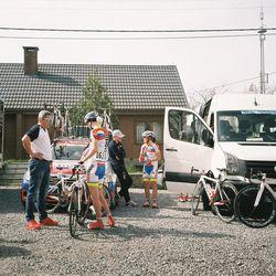 RusVelo's team camp