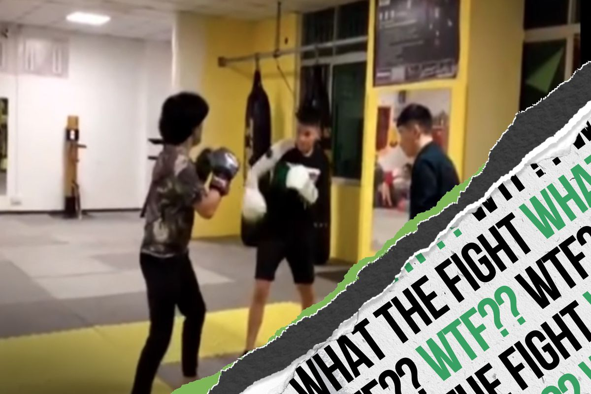 WTF? Female boxer styles on two Kung Fu fighters, South Africa slaps, dazed Dambe, and more