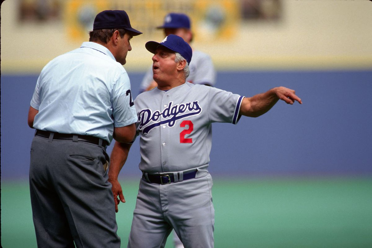 Los Angeles Dodgers Tommy Lasorda