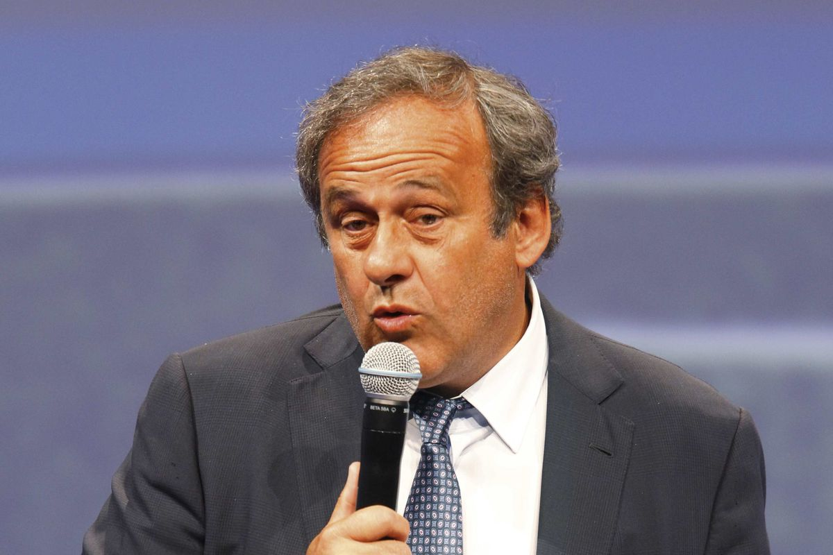 Michel Platini does not believe footballers have the right to