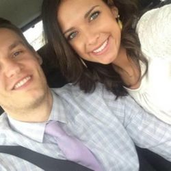 BYU basketball player Kyle Collinsworth and his wife, track star Shea Martinez, are one of many athletic couples over the years who met and married at Brigham Young University.