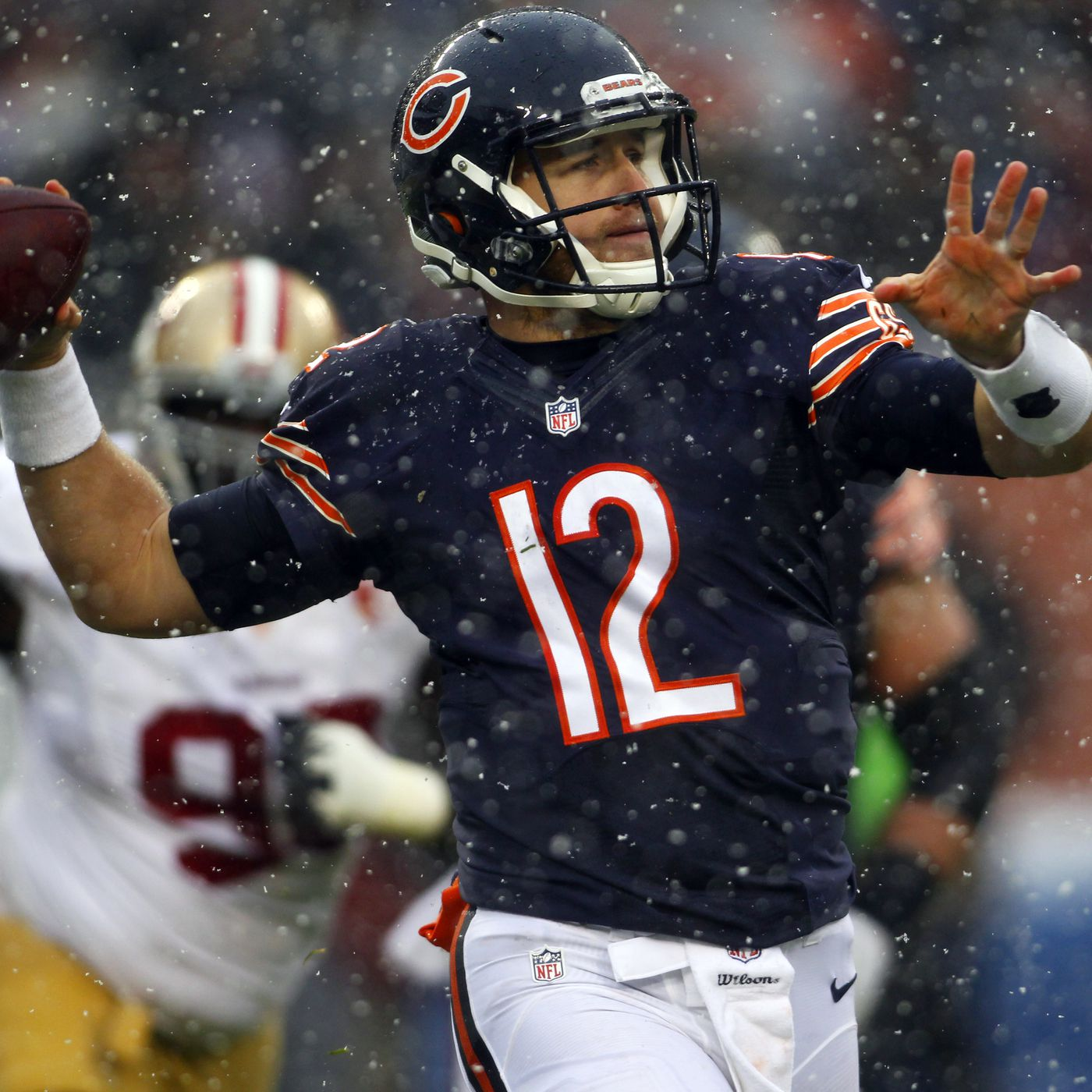 b56cec734a6 Matt Barkley will wear a wetsuit under his jersey to stay warm during  Packers vs. Bears