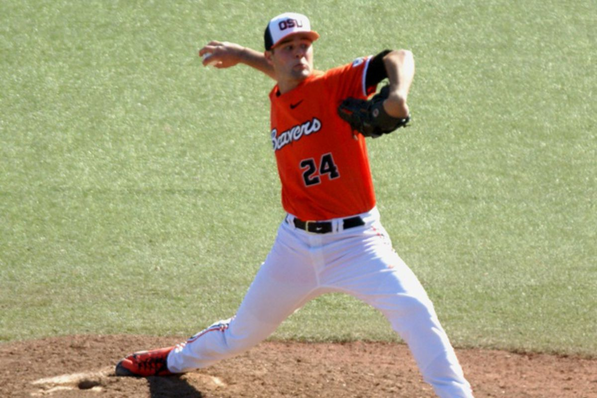 Scott Schultz was the 5th Oregon St. player drafted in this year's MLB draft, in the 10th round.