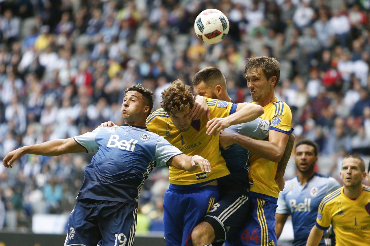 MLS: Colorado Rapids at Vancouver Whitecaps FC