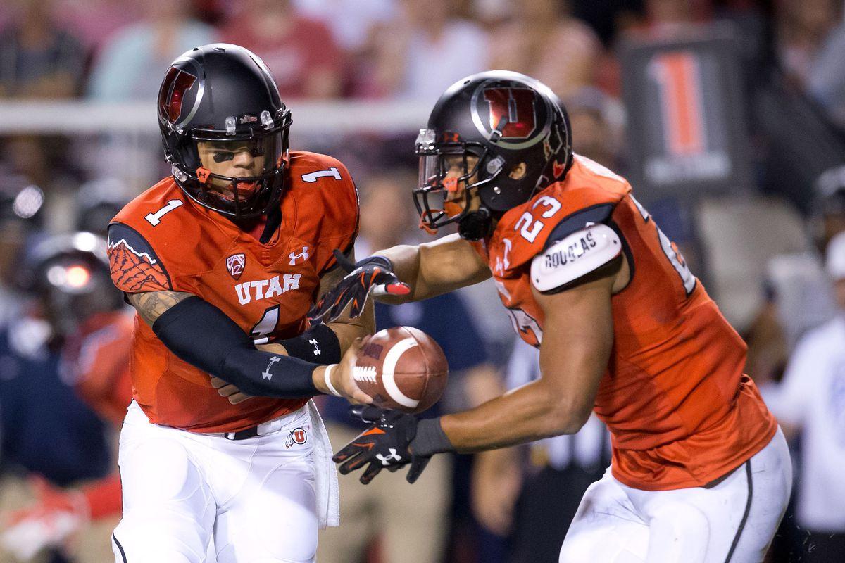 NCAA Football: Utah State at Utah
