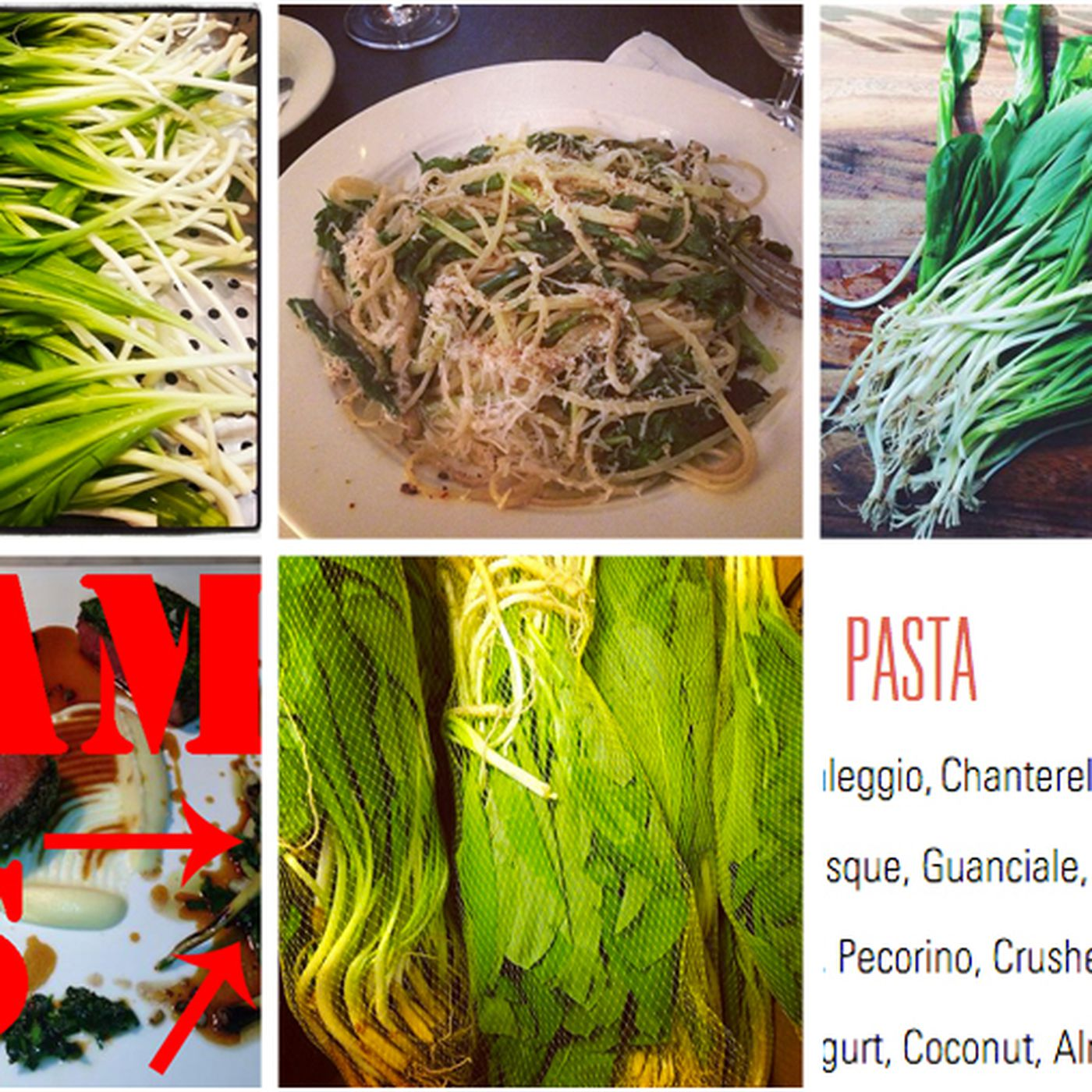 Nyc Begins Its Spring Fling With Ramps Ramps Ramps Eater Ny