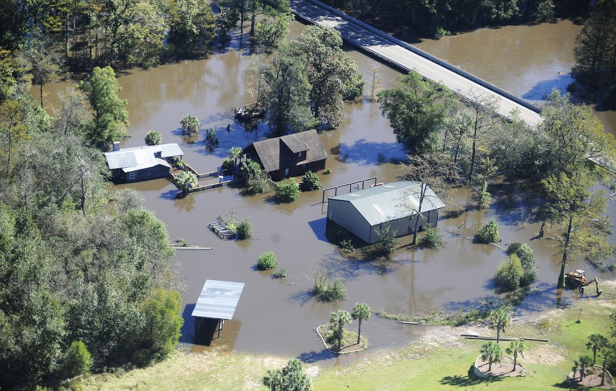 """North Carolina's record floods: """"You have got to see it to"""
