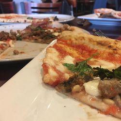 Settebello Pizzeria Napoletana's menu includes selections such as the Settebello and Margherita pizzas.