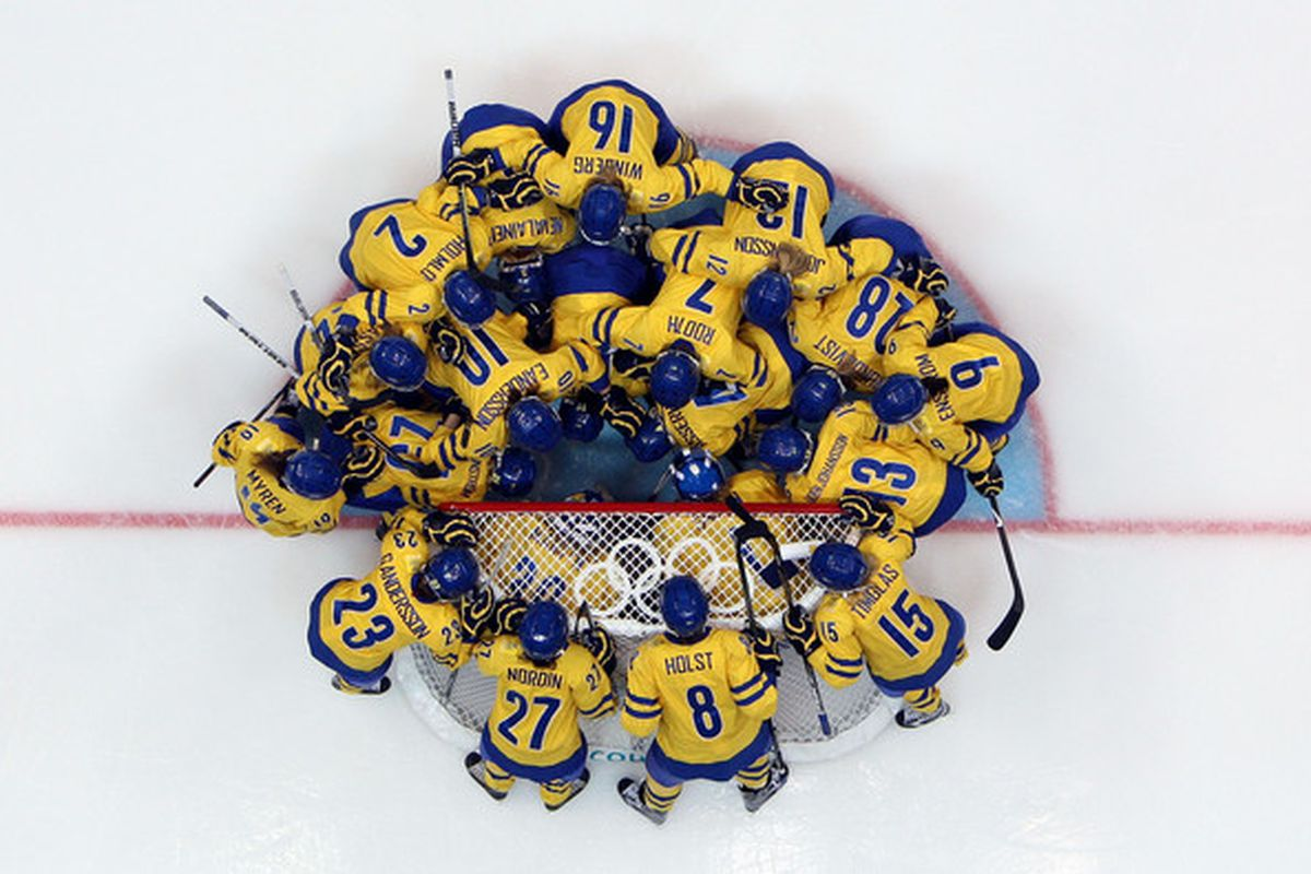 This year's Swedish Olympic Team may be the greatest contender for the gold yet....