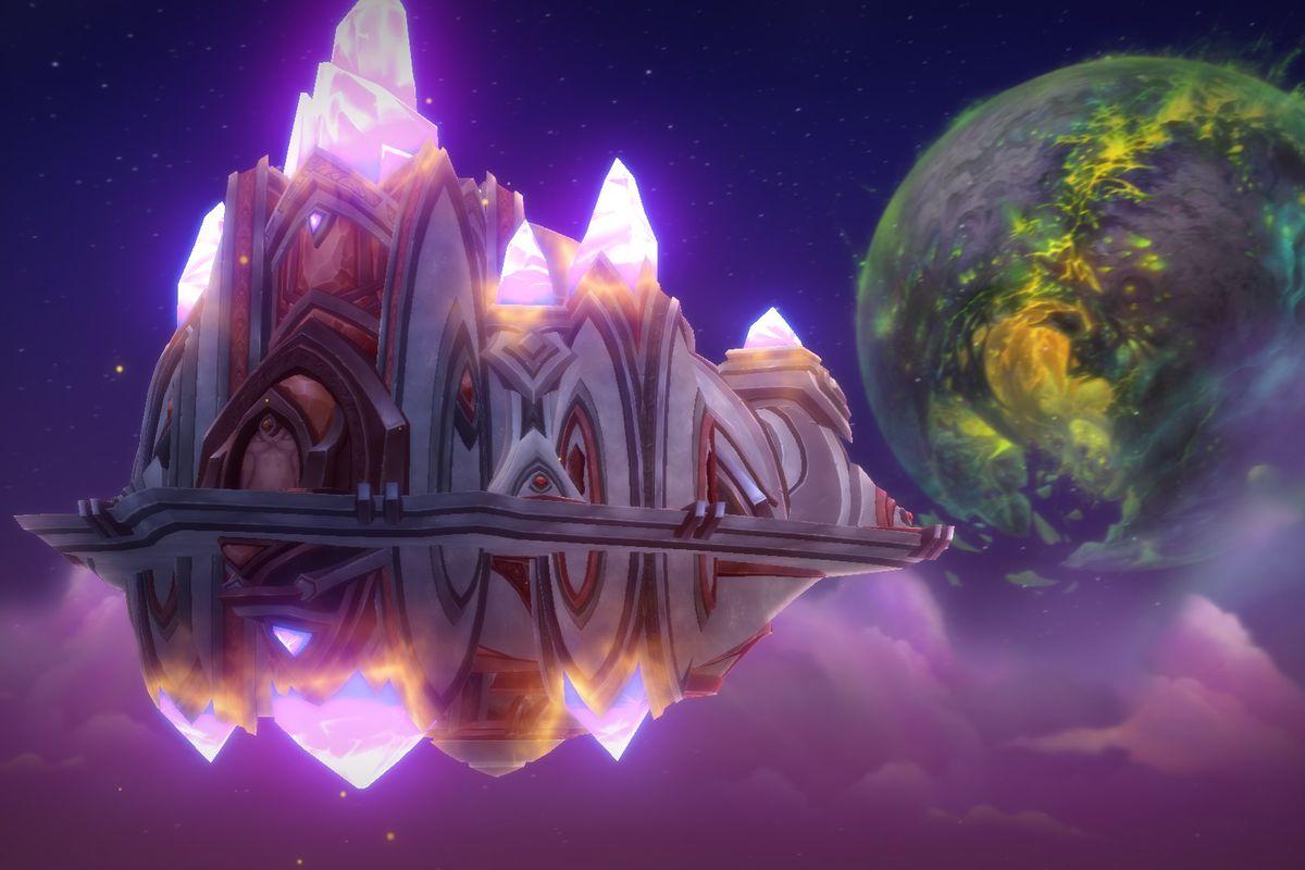 The Vindicaar, World of Warcraft spaceship