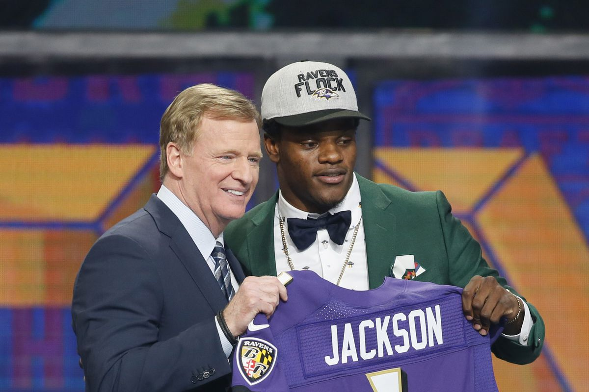 QB Lamar Jackson  It s just overwhelming. I m happy to be a Raven ... a1afe6d6a